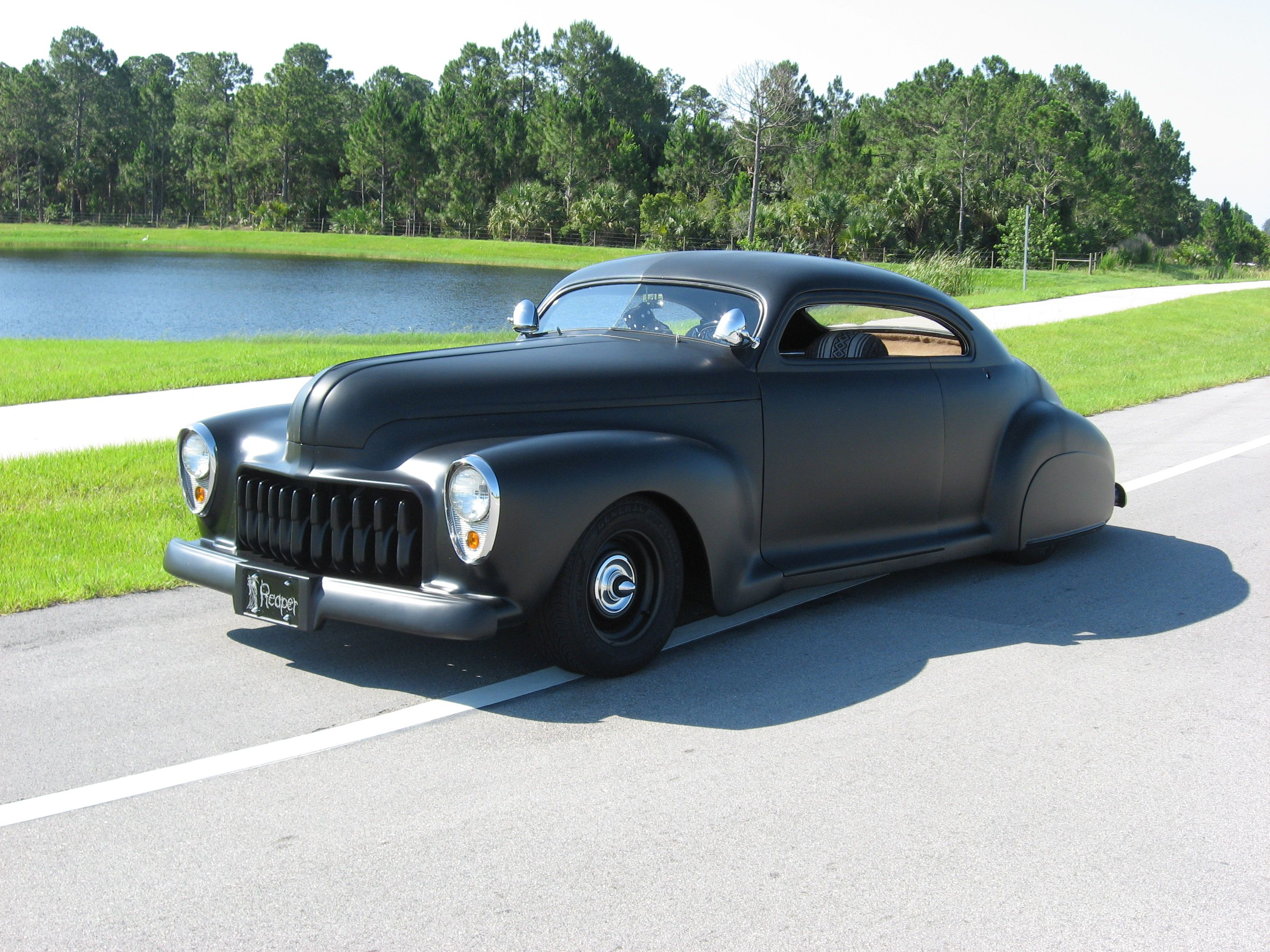 Club Members Rides Page 1941 Plymouth Coupe Chopped Buick